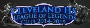 Cleveland charter high school league of legends logo